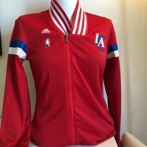 LA Clippers Adidas Zip Up Jacket
